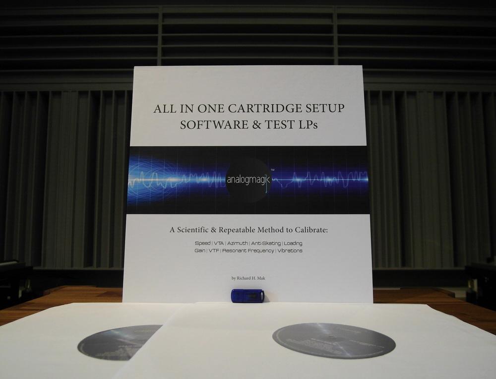 AnalogMagik ซอฟต์แวร์ใหม่ล่าสุดที่ออกแบบมาสำหรับใช้เซ็ตอัพเกี่ยวกับเครื่องเล่นแผ่นเสียง