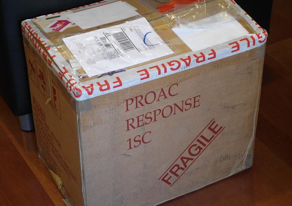 Original ProAc Response 1SC Mahogany #004163 สภาพยอดเยี่ยม