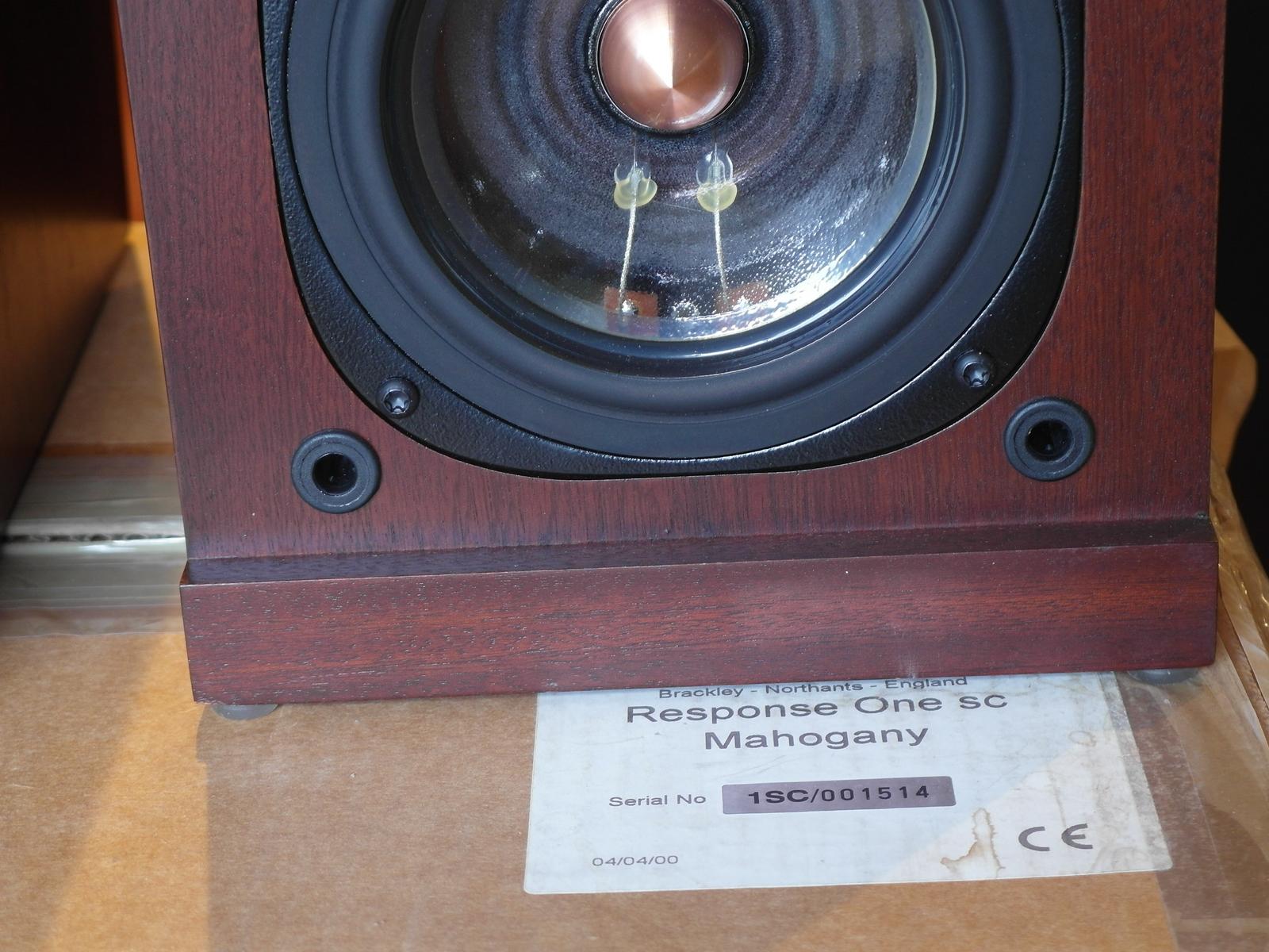 Original ProAc Response One SC Mahogany #1514