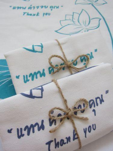 ถุงผ้าดิบ กระเป๋าผ้าดิบ ลดโลกร้อน ผ้าดิบลายสอง ผ้าแคนวาส สกรีนลาย จาก baginlove.com ถุงผ้างานศพ ฌาปนกิจ