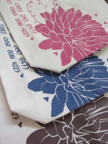 ถุงผ้า ถุงผ้าดิบ ลดโลกร้อน ของชำร่วย หน่วยงาน บริษัท องค์กร สกรีนลาย จาก baginlove.com