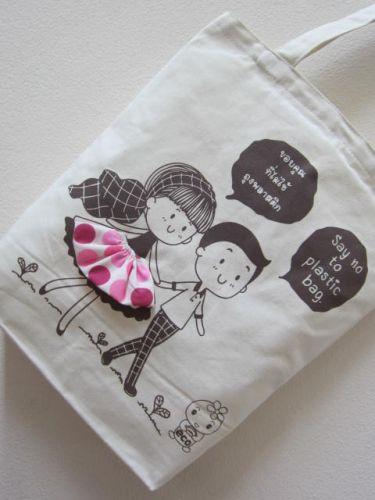งานออกแบบถุงผ้า ของดีไซเนอร์ baginlove.com
