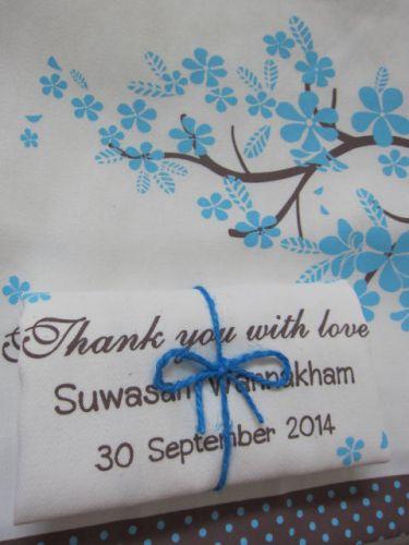 ถุงผ้า กระเป๋าผ้า ลดโลกร้อน ลายสกรีนงานเกษียณ จาก baginlove.com