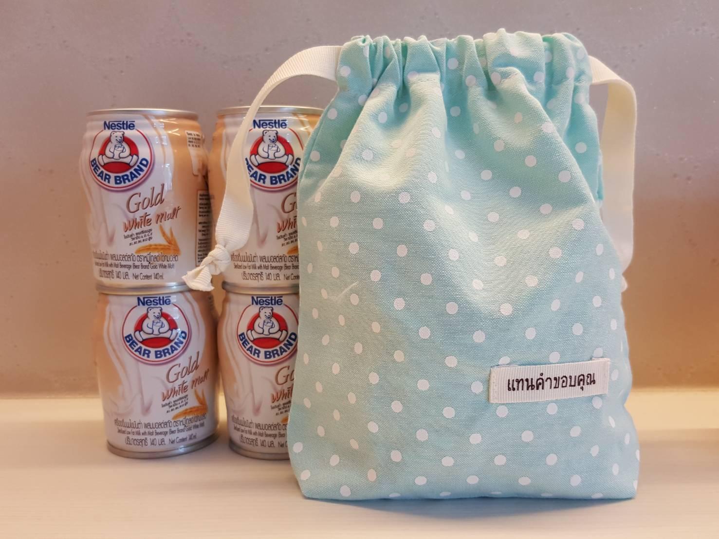 ถุงผ้าดิบ, กระเป๋าผ้าดิบ, ลดโลกร้อน, สกรีนลายสำเร็จรูป, ขายส่ง, พร้อมส่ง,ลายน่ารัก, ถุงหูรูด จาก baginlove.com,