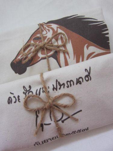 ถุงผ้า ของชำร่วย งานเกษียณอายุ จาก baginlove.com