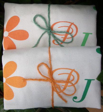 ถุงผ้า ของชำร่วย ผูกเชือกปอ พร้อมให้ผู้รับ น่ารัก น่าใช้ มีประโยชน์ ช่วยลดโลกร้อน