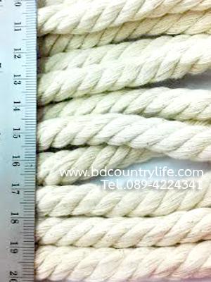 เชือก ฝ้าย cotton yarn