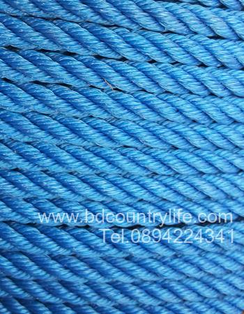 เชือก ไนล่อน น้ำเงิน สีน้ำเงิน rope