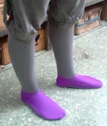 ถุงเท้า ถุงเท้าผ้ายืด สเตย์ ลงนา ดำนา