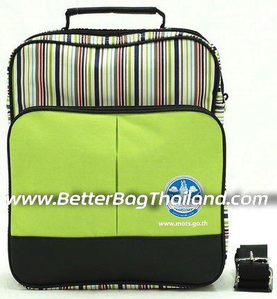 กระเป๋าเอกสารงานสัมมนาสีสันสดใสราคาถูก