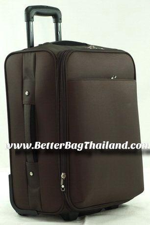 กระเป๋าเดินทางล้อลากคันชักคู่เกรดงานส่งออก