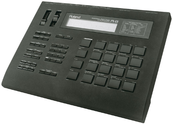 roland r 8 r8 human rhythm composer drum machine power supply ebay. Black Bedroom Furniture Sets. Home Design Ideas