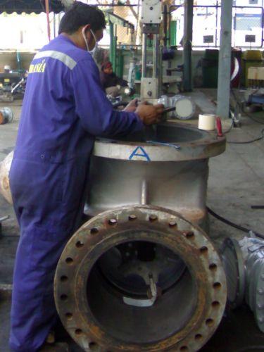 Lapping valve
