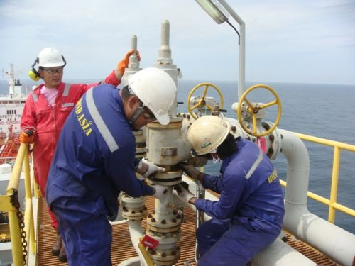 Service safety valve offshore : Rubicon