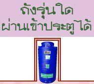 ถังน้ำ ถังเก็บน้ำ ถังน้ำดี พลาสติก พีอี ลายแกรนิต กันตะไครน้ำ เข้าประตู