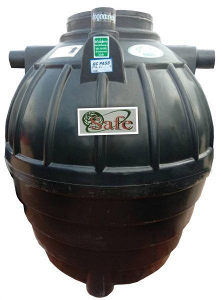 ถังบำบัดน้ำเสีย ถังแซท ถังเกรอะ ถังส้วม Safe 1600 ลิตร