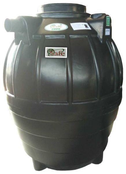 ถังบำบัดน้ำเสีย ถังแซท ถังเกรอะ ถังส้วม Safe 2000 ลิตร