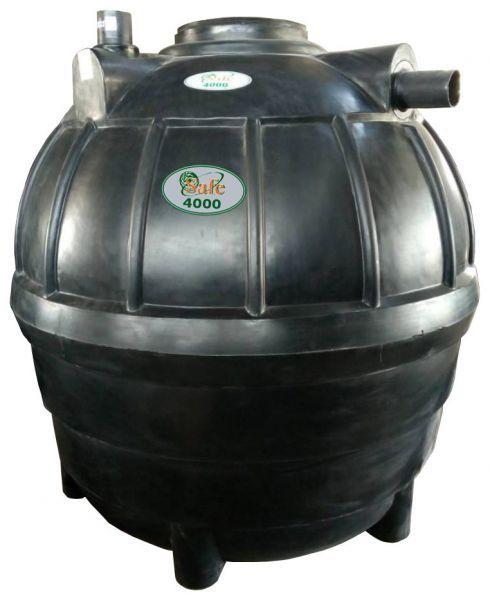 ถังบำบัดน้ำเสีย ถังแซท ถังเกรอะ ถังส้วม Safe 4000 ลิตร