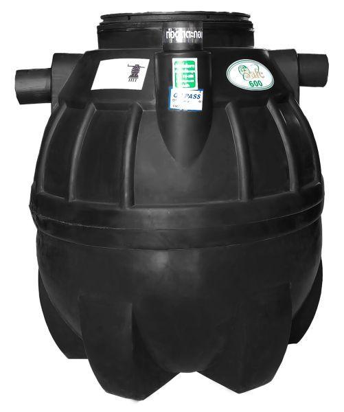 ถังบำบัดน้ำเสีย ถังแซท ถังเกรอะ ถังส้วม Safe 600 ลิตร