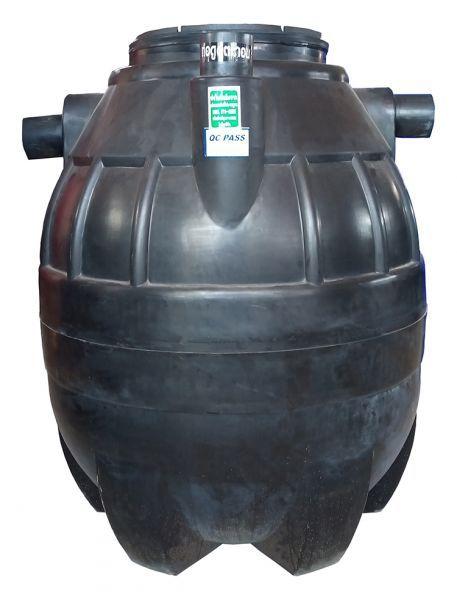 ถังบำบัดน้ำเสีย ถังแซท ถังเกรอะ ถังส้วม Safe 800 ลิตร