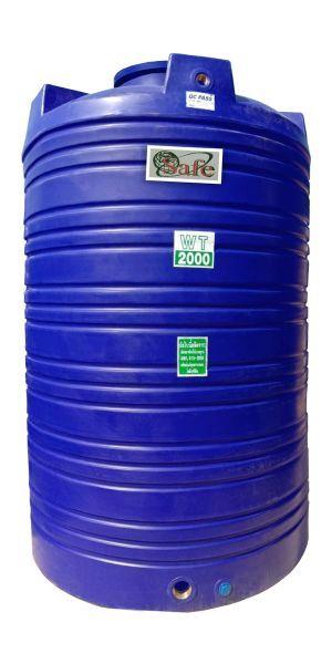 ถังน้ำ ถังเก็บน้ำ ถังพักน้ำ ถังน้ำดี safe 2000 ลิตร