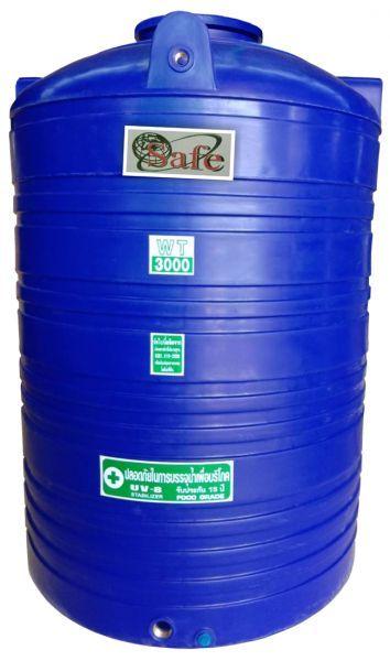 ถังน้ำ ถังเก็บน้ำ ถังพักน้ำ ถังน้ำดี safe 3000 ลิตร