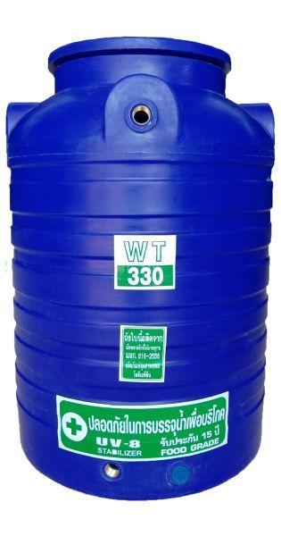 ถังน้ำ ถังเก็บน้ำ ถังน้ำดี ถังพักน้ำ สำรองน้ำ 300 ลิตร