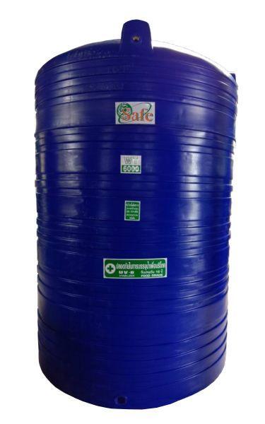 ถังน้ำ ถังเก็บน้ำ ถังน้ำดี พลาสติก 6000 ลิตร