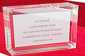 Acrylic Magnetic Frame premium quality at B.S.Frame House