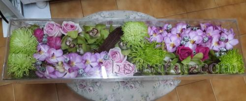 Acrylic Flower Box by B.S.Frame