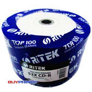 CD-R  White Print  Ritek