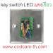 key switch led red green
