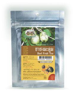 ชาชงมะตูม - Bael Fruit Tea - Aegle marmelos (L) Corr.
