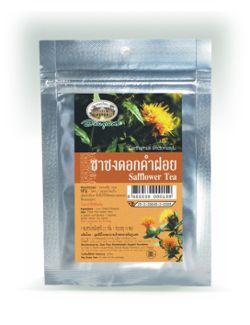 ชาชงดอกคำฝอย - Salfflower Tea - Carthamus tinctorius L. - อภัยภูเบศร