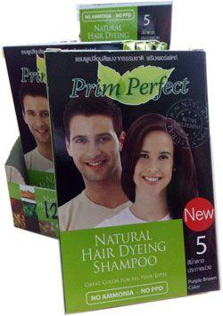 แชมพูเปลี่ยนสีผมจากธรรมชาติ   พริมเพอร์เฟค - PRIMPERFECT NATURAL HAIR DYEING SHAMPOO