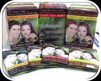 Hair Dyeing Shampoo - แชมพูเปลี่ยนสีผมจากธรรมชาติ - สีดำ ธรรมชาติ - Black Color