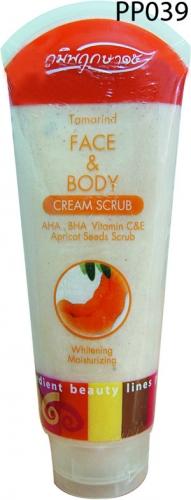 ครีมขัดผิวมะขาม - Cream Scrub Tamarind - ภูมิพฤกษา