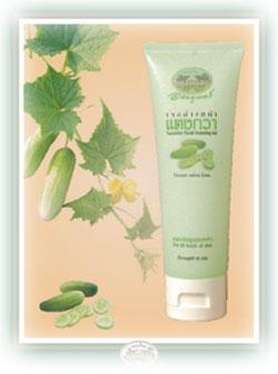 เจลล้างหน้าแตงกวา - Cucumber Facial Cleansing Gel - อภัยภูเบศร - abhaibhubejhr