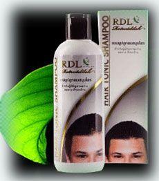แชมพูสมุนไพรสำหรับผมร่วง - Hair Tonic Shampoo - RDL Rotrutdilok Natural Herb