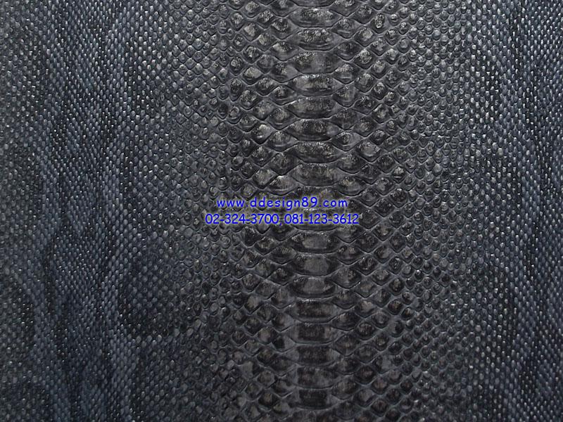 วอลเปเปอร์ลายขนสัตว์หนังงูสีดำเข้ม