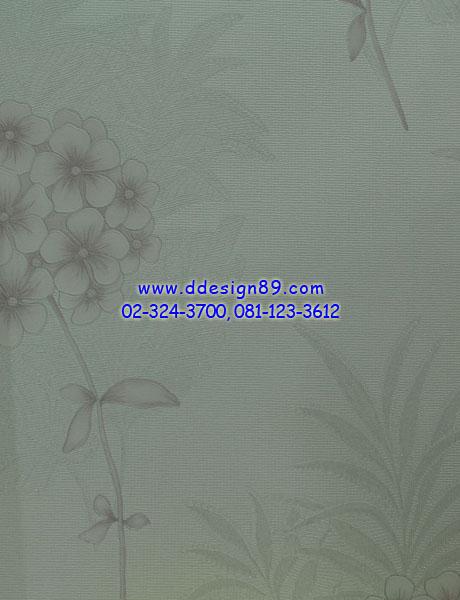 วอลเปเปอร์ลายดอกไม้สีน้ำเงิน