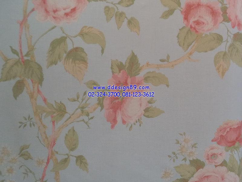 วอลเปเปอร์ลายวินเทจดอกไม้