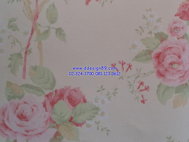 วอลเปเปอร์ลายวินเทจลายดอกไม้
