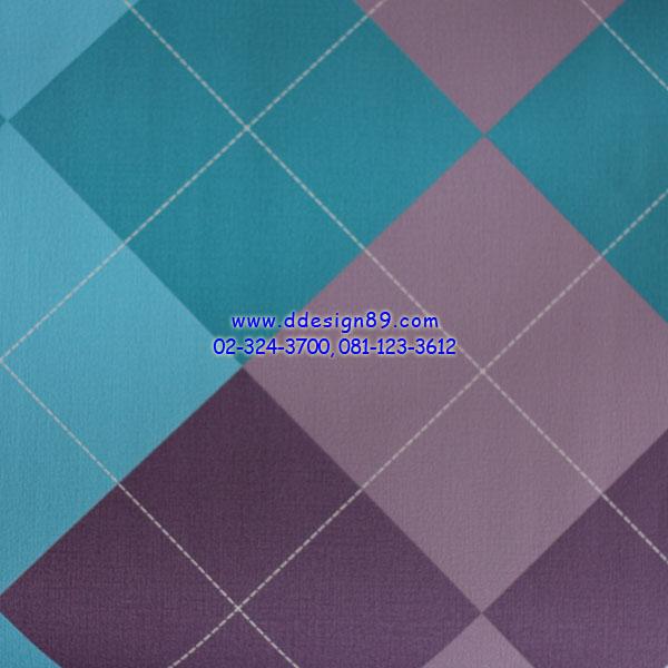 วอลเปเปอร์ลายสีสันสดใสสีฟ้า ม่วง