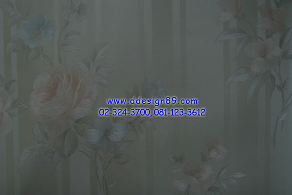 วอลเปเปอร์ติดผนังลายดอกไม้วินเทจ 33