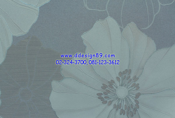 วอลเปเปอร์ลาย ดอกไม้ โมเดิร์น