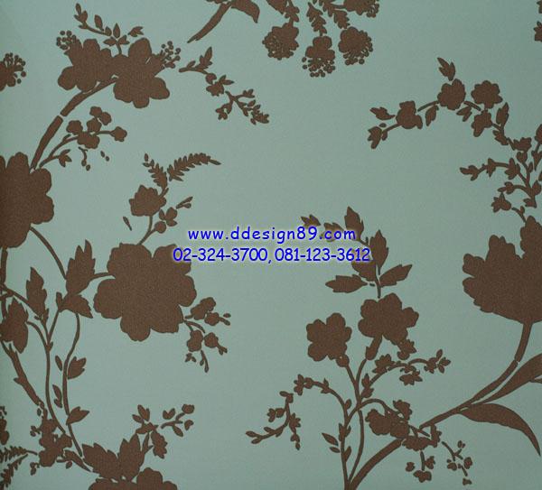 วอลเปเปอร์ ลายดอกไม้โมเดิร์น