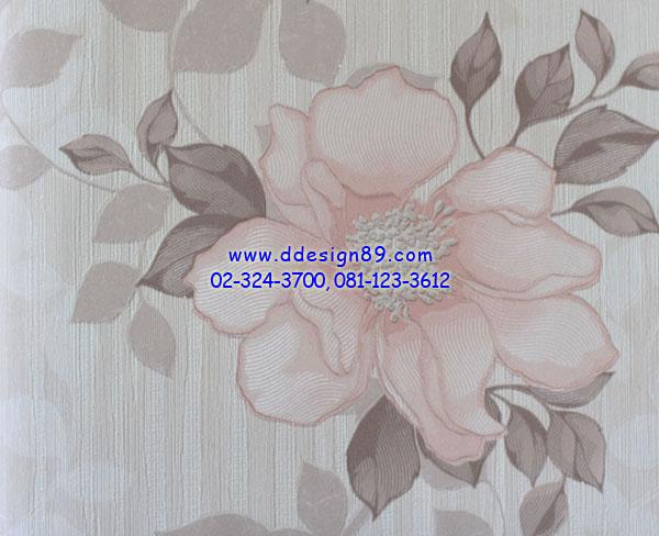 วอลเปเปอร์ติดผนังจากเกาหลีลายดอกไม้สไตล์โมเดิร์น