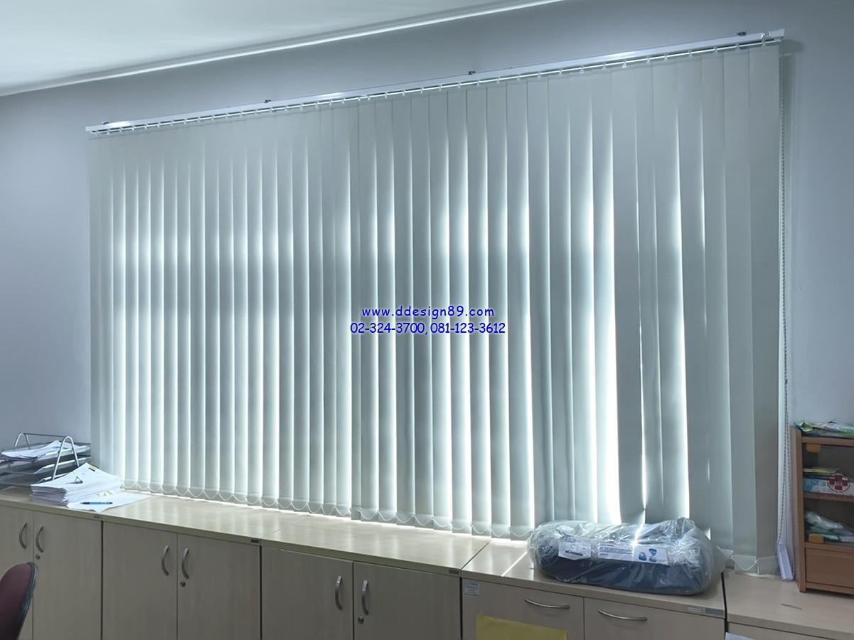 ม่านติดออฟฟิศ ม่านปรับแสงในสำนักงาน ติดม่านในสำนักงาน