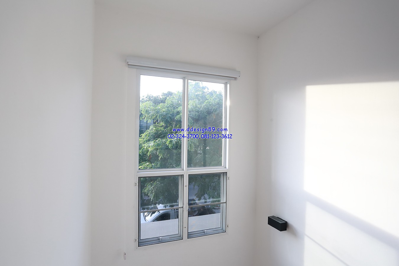 ติดม่านม้วนในบ้าน เปิดม่านม้วนรับแสงสว่างจากภายนอก ช่วยประหยัดค่าไฟลงไปได้เยอะ